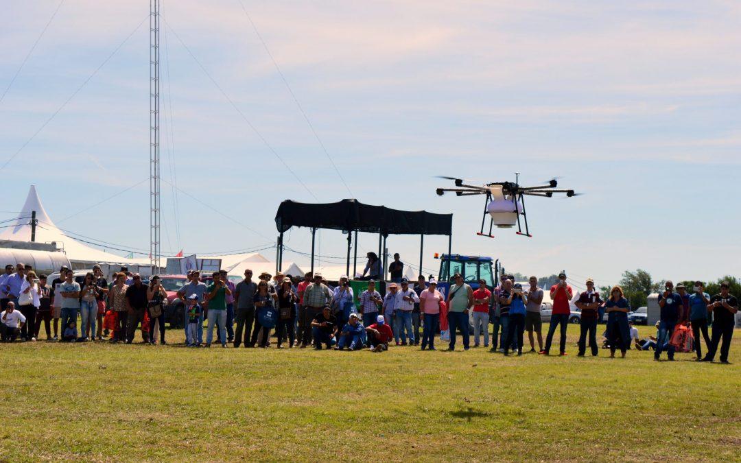 Tecnología de fumigación con drones