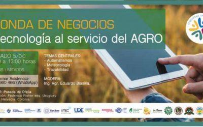 Sábado 5 en Nueva Helvecia: Ronda de Negocios, Ecosistema Emprendedor Colonia – San José